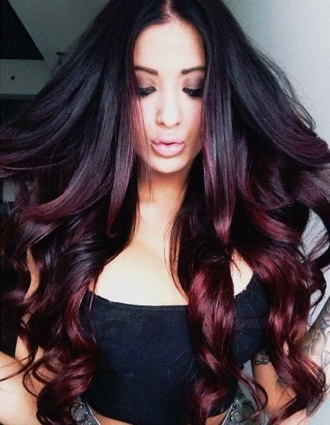 25 Best Ideas About Black Hair Ombre On Pinterest Balayage