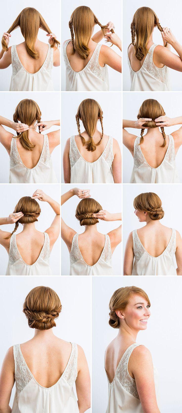 25 Best Ideas About Diy Wedding Hair On Pinterest Easy Formal