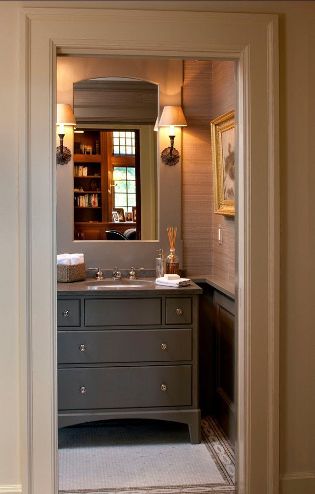 17 Best Ideas About Powder Room Vanity On Pinterest Bath