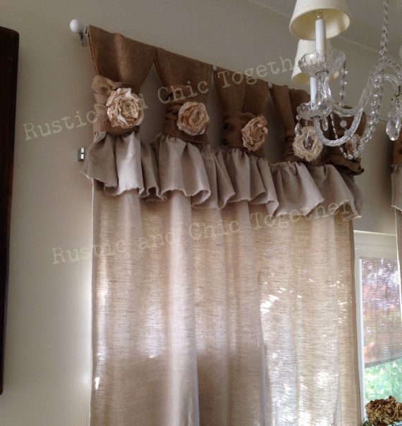 25 best ideas about Rustic Curtains on Pinterest