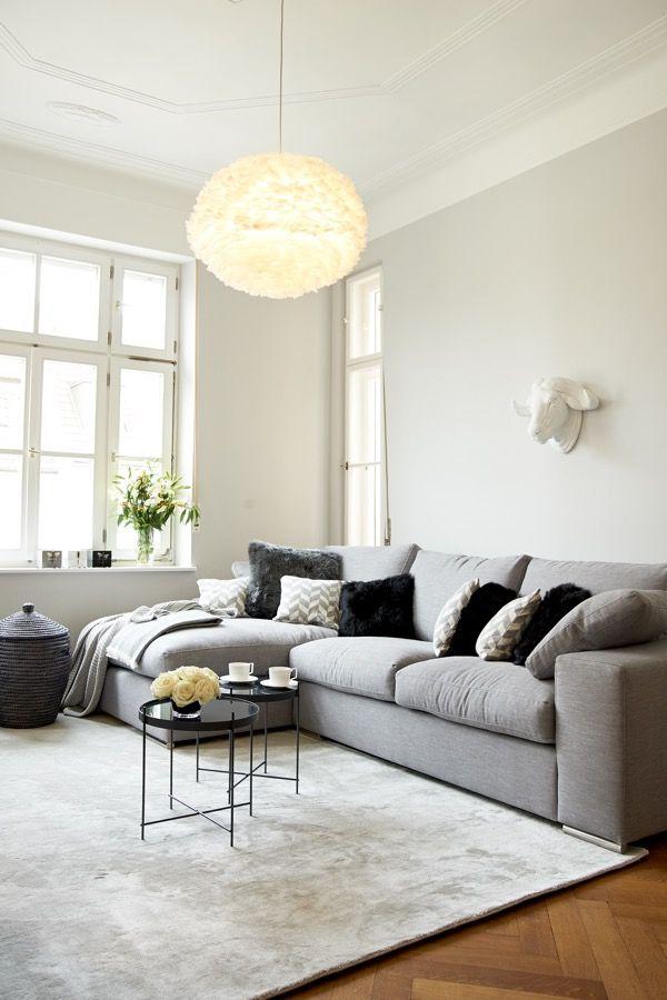 Die besten 17 Ideen zu Graue Sofas auf Pinterest  Lounge decor Familienzimmer dekoration und