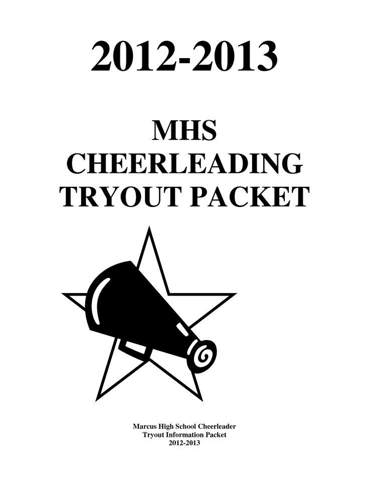Cheer Tryout Packet 2012-2013 final by xuyuzhu