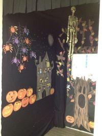Haunted House Preschool Classroom Door Decoration ...
