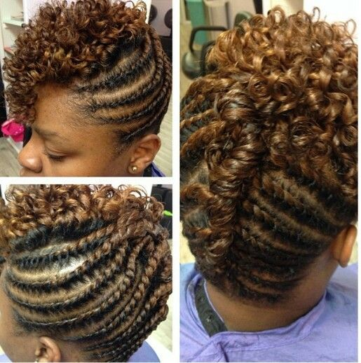 25 Best Ideas About Two Strand Twist Updo On Pinterest Natural