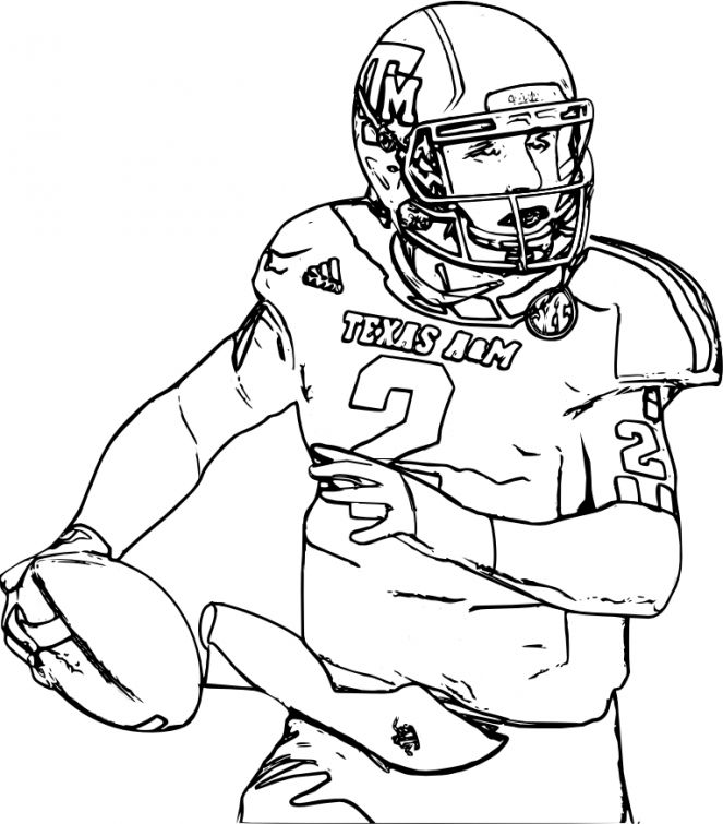 Realistic Football players coloring pages for adults