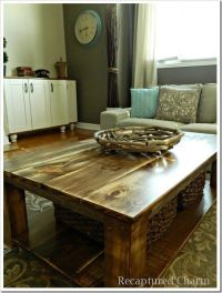 Do It Yourself Coffee Table Ideas - WoodWorking Projects ...