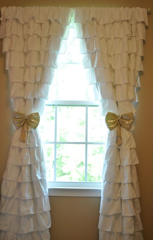 10 Best Ideas About Ruffled Curtains On Pinterest Ruffle