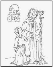 Father Coloring Page Catholic