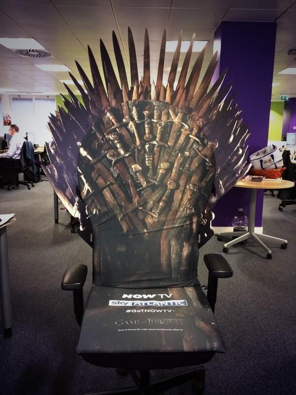 iron throne chair backboard hanging with stand uk desk french antique extremely rare game of thrones office