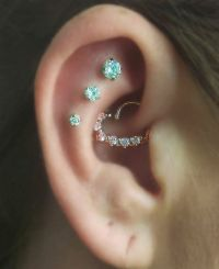 17 Best ideas about Multiple Ear Piercings on Pinterest