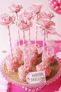 17 Best images about Marshmallow party ideas on Pinterest