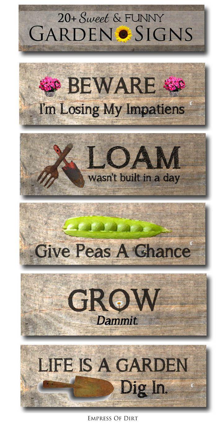 25 Best Ideas About Garden Signs On Pinterest Garden Stakes