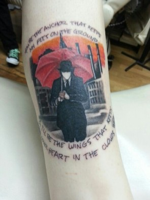 Image result for mayday parade tattoos