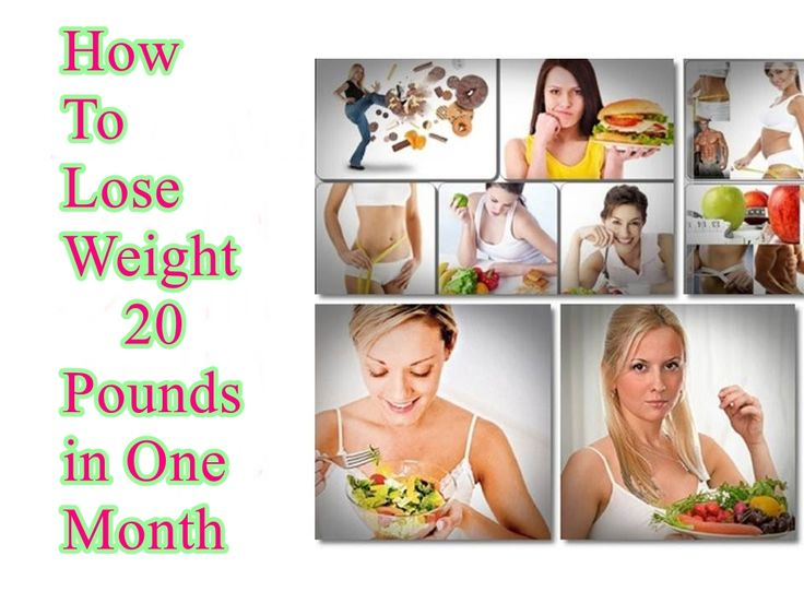 How to lose weight 20 pounds in one month how to lose