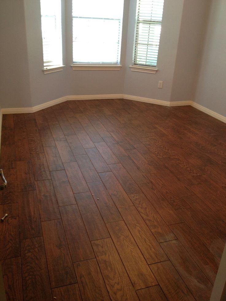 Tile that looks like wood Love the durability  Floors