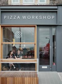 Pizza Workshop Restaurant Interior & Branding by Moon ...