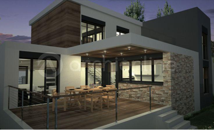 Maison Amanda  Plan De Maison Moderne Par Archionline