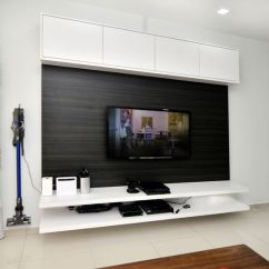 Wall Decor For Living Room Philippines Simple False Ceiling Design Small #tv #console #cabinet #white #laminate #wood #livingroom # ...