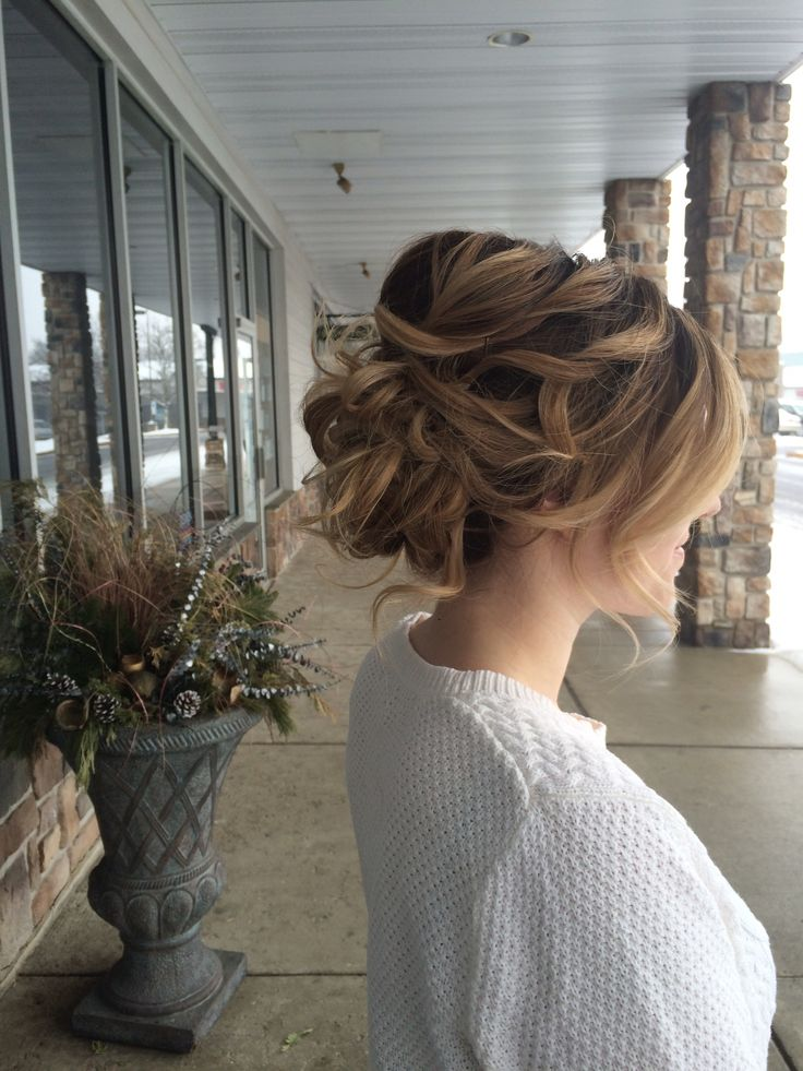 25 Best Ideas about Loose Curly Updo on Pinterest  Loose