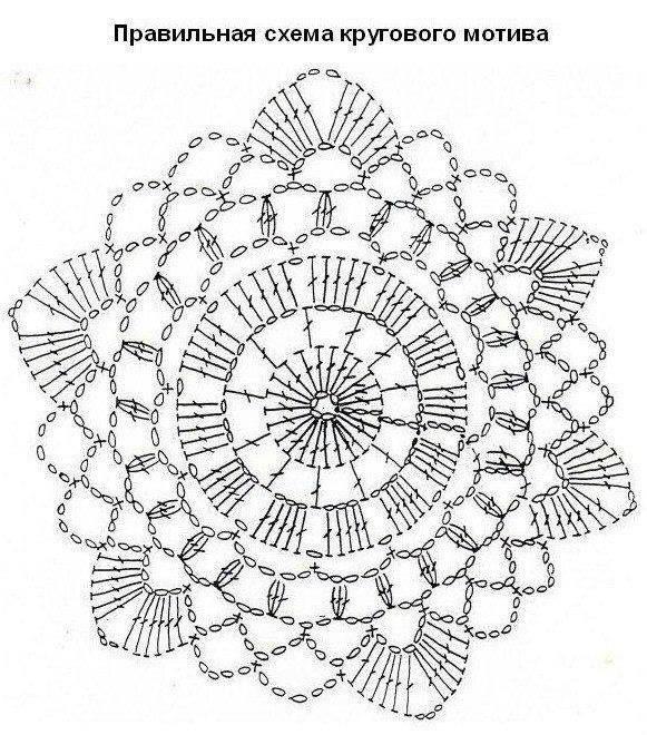 4095 best Crochet Motifs: Flowers images on Pinterest