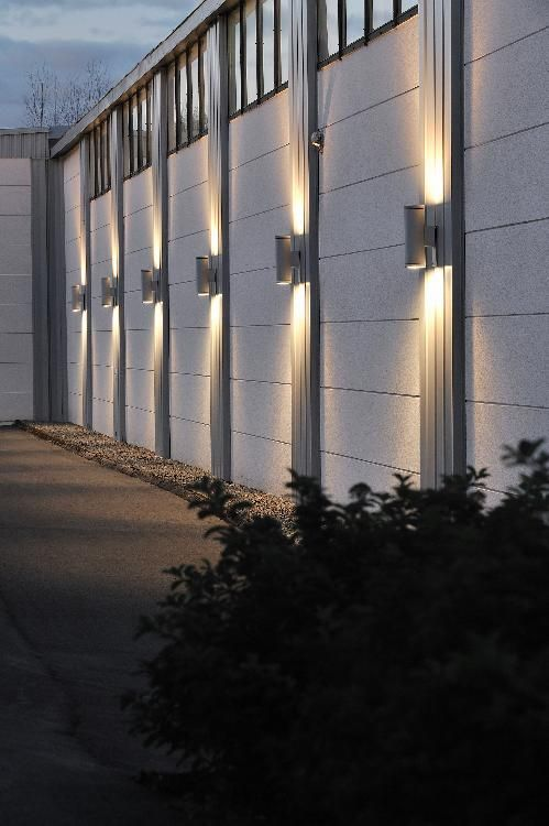 Exterior Outdoor Wall Light Up And Down Light Facade