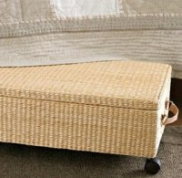 Under Bed Storage Basket on wheels