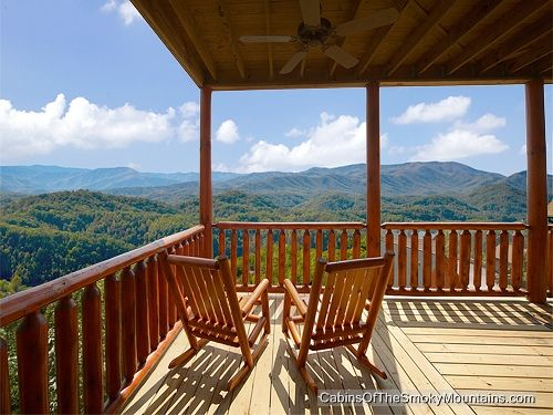 Lots Of Views From Wild Turkey 6 Bedroom Cabin In Gatlinburg Tn