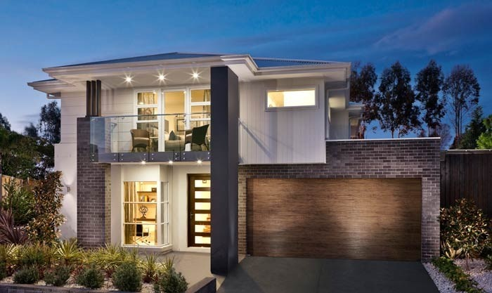 Masterton Home Designs Merlot Timeless RHS Facade