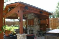 Free Outdoor Fireplace Design Plans | Free Standing Patio ...