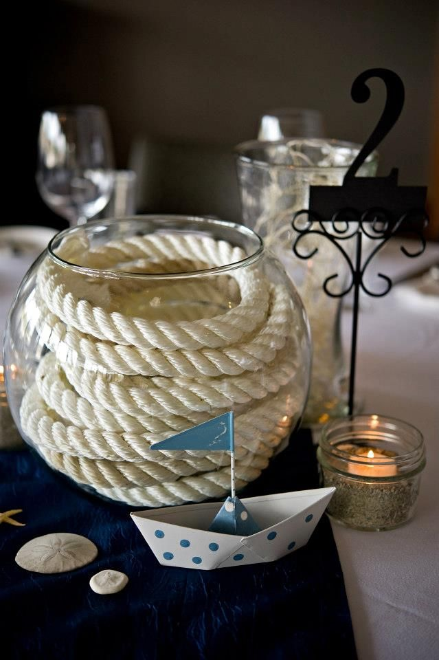 17 Best Ideas About Nautical Table Centerpieces On Pinterest Nautical Centerpiece Anchor