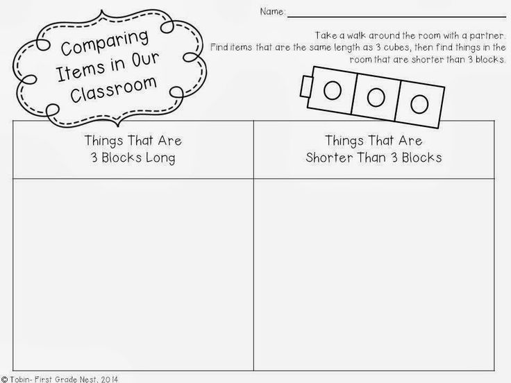 99 best images about Pre Primary Measurement on Pinterest