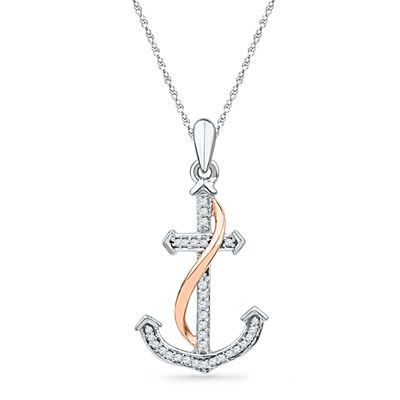 17 Best ideas about Anchor Necklace on Pinterest