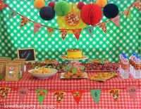 17 Best images about Pizza Pizzeria Birthday Party Ideas ...