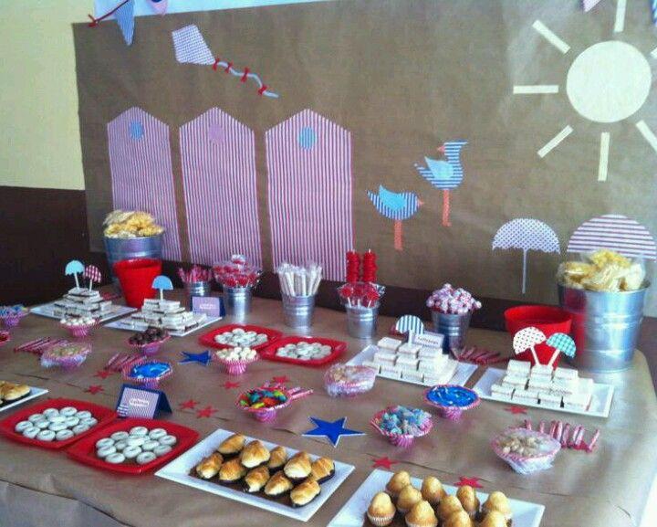 Diseo y decoracion de eventos Mesa merienda para