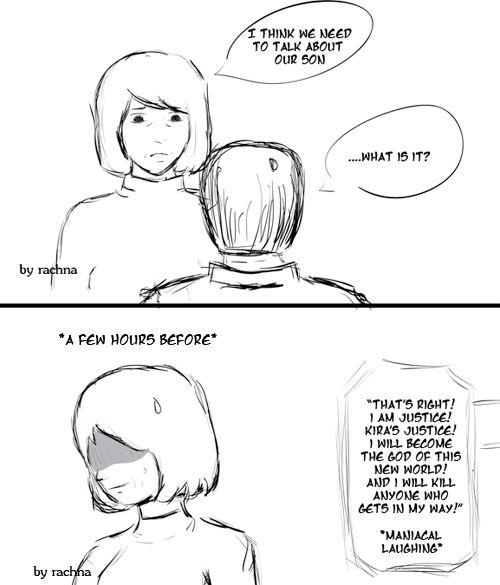 17 Best images about Death Note Humor / Cómicas / Amusant
