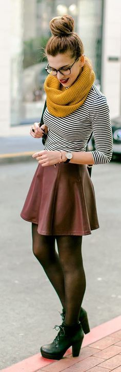 25 Great New Outfits For Your Winter Lookbook - Style Estate - #FashionEstate: