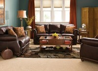 Rust curtains | Living / Family Room | Pinterest | Leather ...