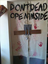 Don't open dead inside- The walking dead door decor ...