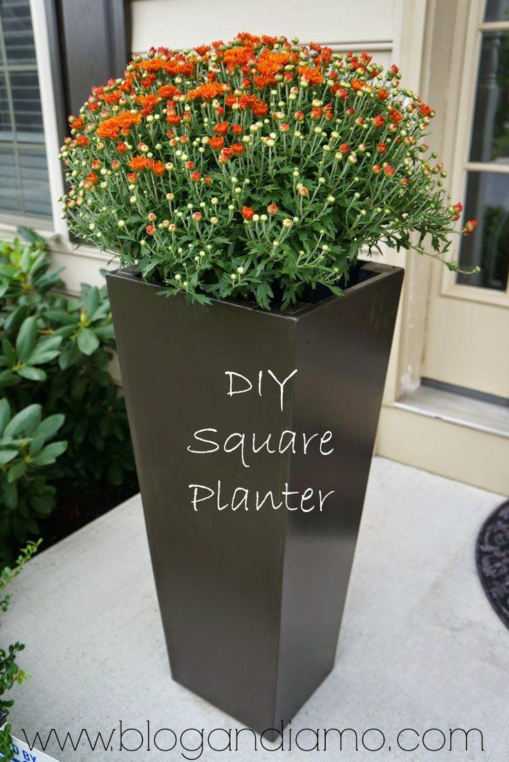 25 Best Ideas About Diy Planters On Pinterest Decorative Cinder