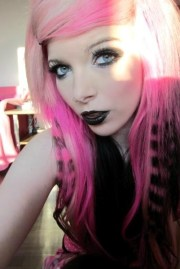 ira vampira pink hair coontails