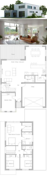 25+ best ideas about Modern House Plans on Pinterest ...