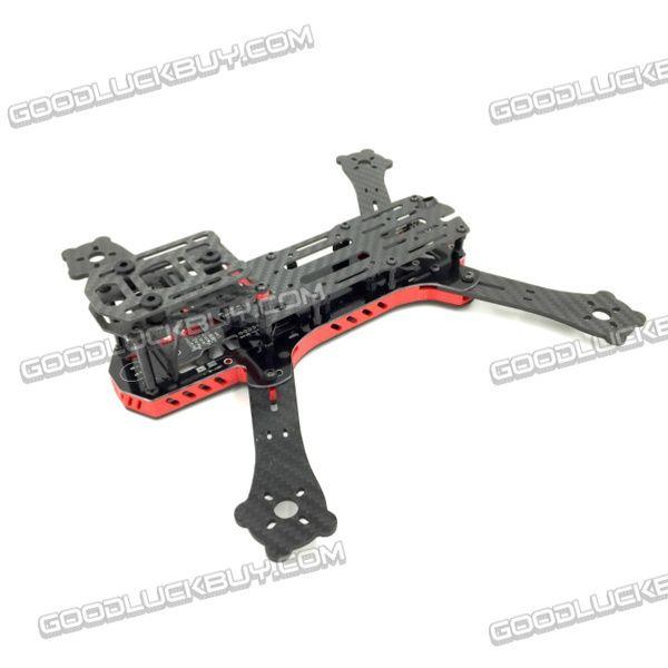 GE250Z 4-Aixs Carbon Fiber Quadcopter Frame with Power