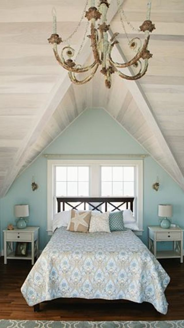 White Washed Ship Lap Wood Ceilings In This Master Bedroom On The Ocean Interior Details