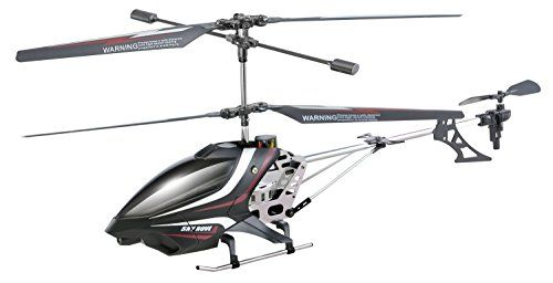 Sky Rover Exploiter S 3 Channel with Gyro Helicopter Black