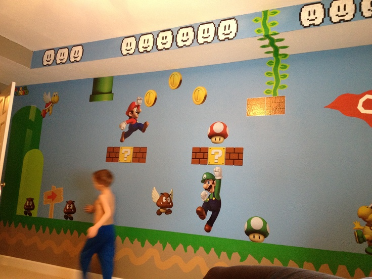 Super Mario bros room  Cylers room  Pinterest  Super