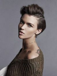 1000+ ideas about Ruby Rose Hair on Pinterest