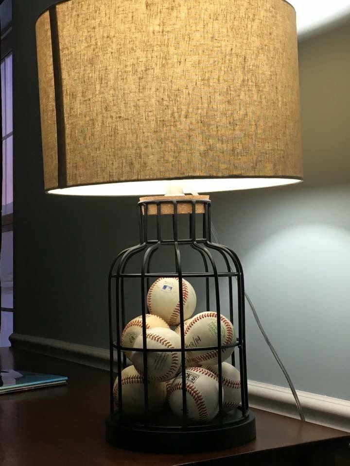 Baseball Lamp Hobby Lobby BabyKids Bedroom Ideas
