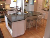 Curved Kitchen Island on Pinterest. A selection of the