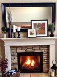 Wood Fireplace Mantel Cover
