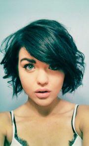 short wavy hair - growing